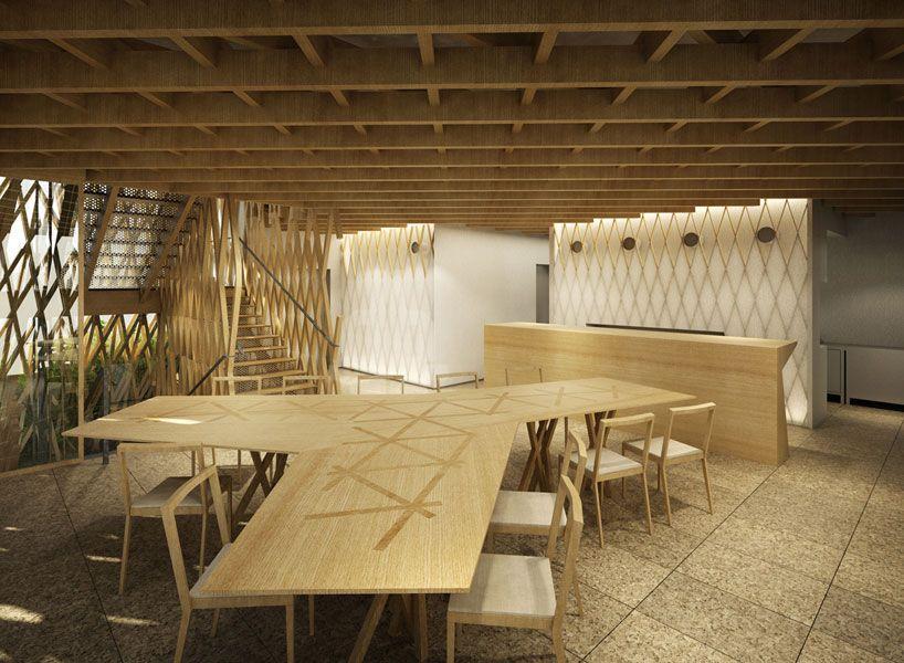 Kengo Kuma Wraps Sunny Hills Japan Shop In Wood 隈研吾 デザイン