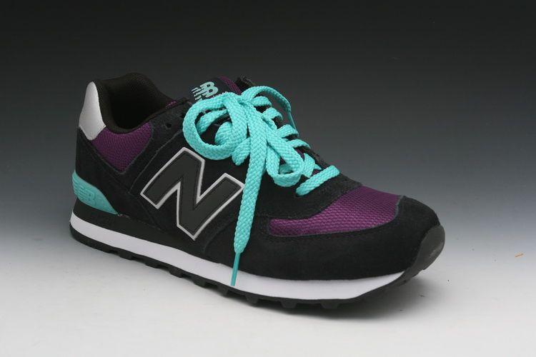 New Blackpurple Balance Sneakers wl574kpm Shoes In 574 Women's Hrzqnrpg
