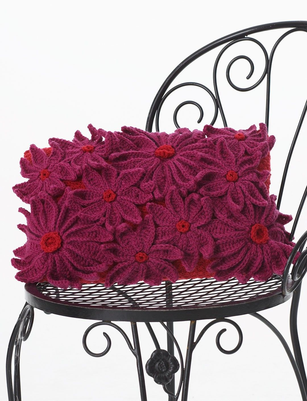 petal pillow crochet for the home pinterest pillows free