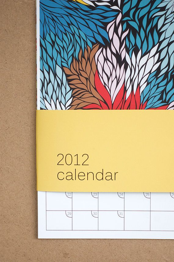 Large MultiPrint Loose Calendar by khristianahowell