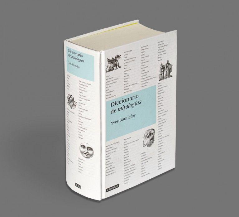 Book Cover Design Reference : Diccionario de mitologías astrid stavro studio design