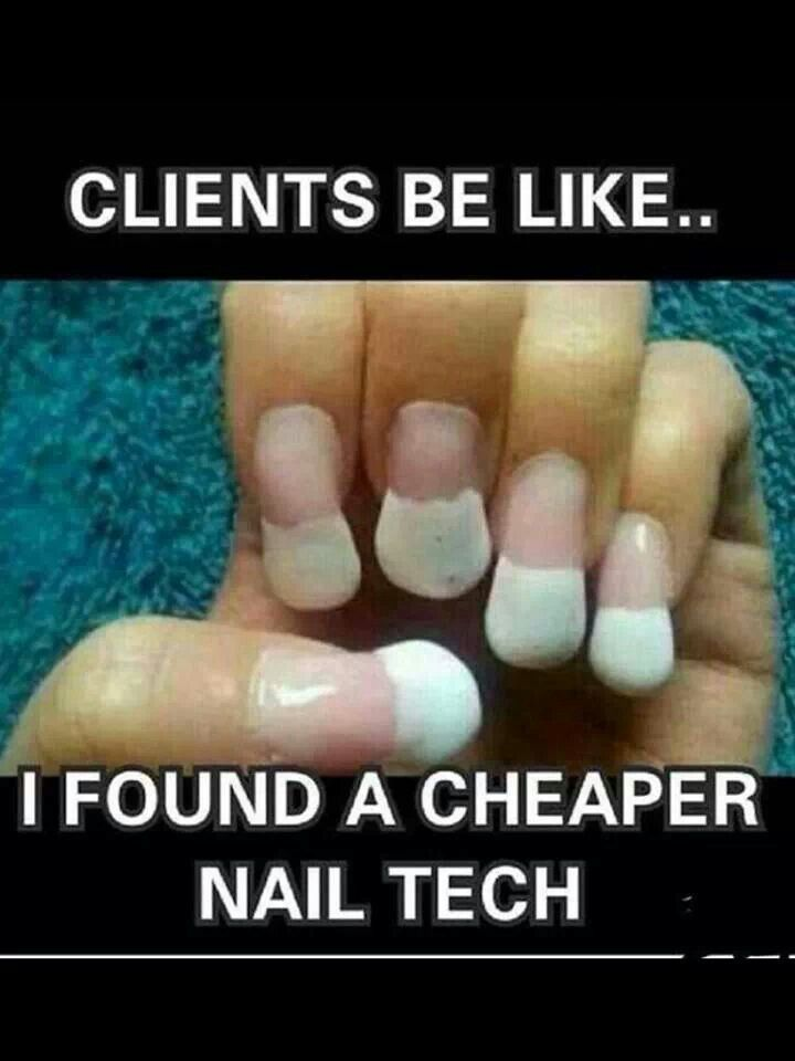 This is clearly NOT the work of a Trusted nail tech | Quotes and ...
