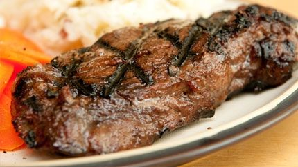 طريقة لحم تندرلوين مشوي Recipe Tenderloin Recipes