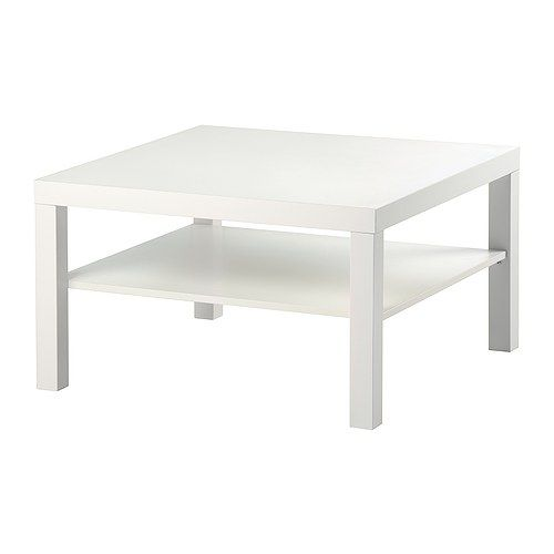 LACK Coffee table IKEA Separate shelf for storing magazines, etc.; keeps your things organised and the table top clear.