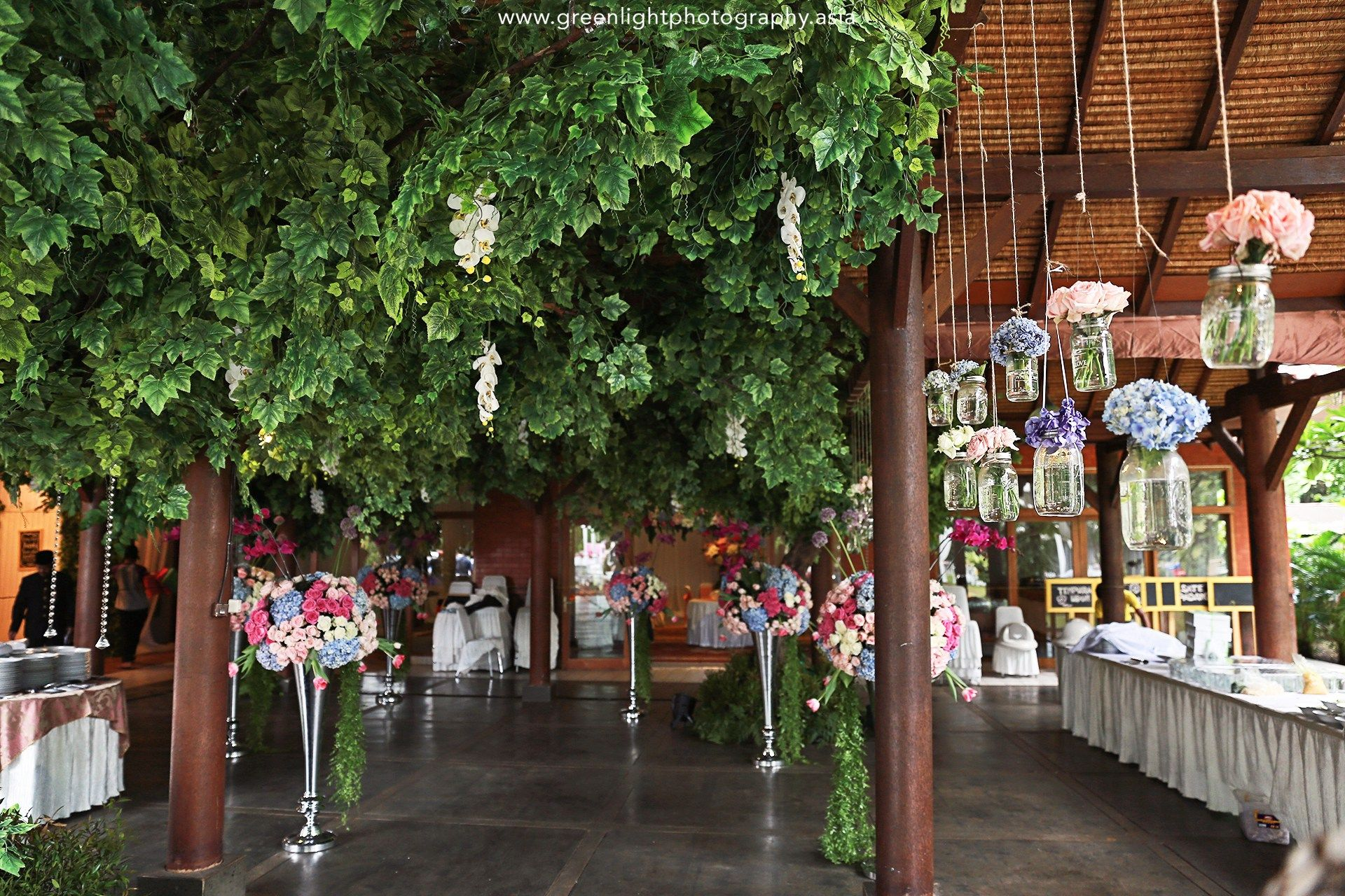 Secret Garden Wedding at Pondok Indah Lestari - outdoor wedding ...