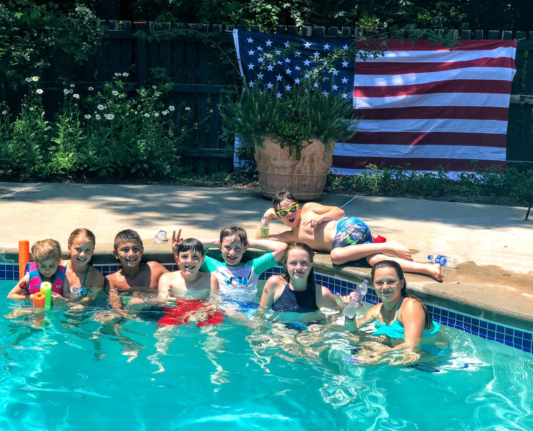 4th Of July Pool Party Pictures And Party Supplies 4th Of July