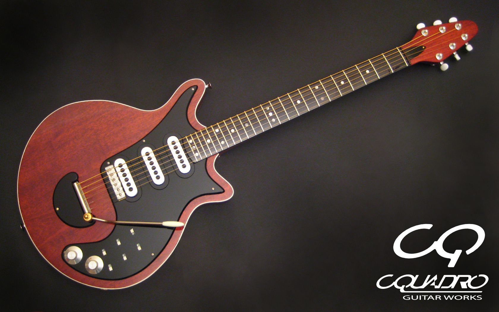 guitar nicknamed red special - HD1680×1050