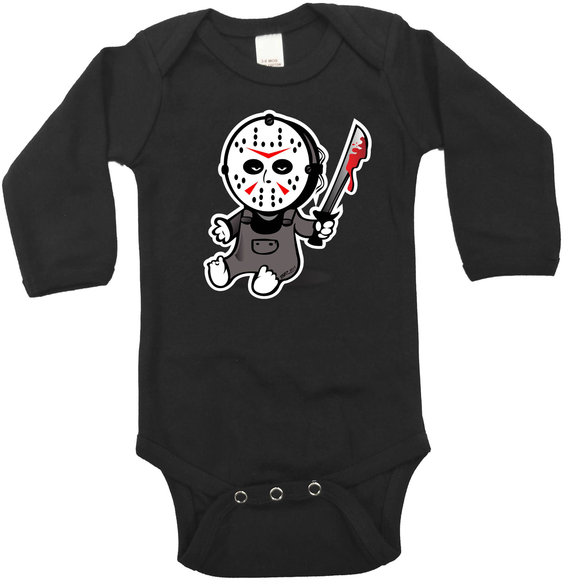 Halloween Baby Clothing Jason Friday 13th Halloween Outfit
