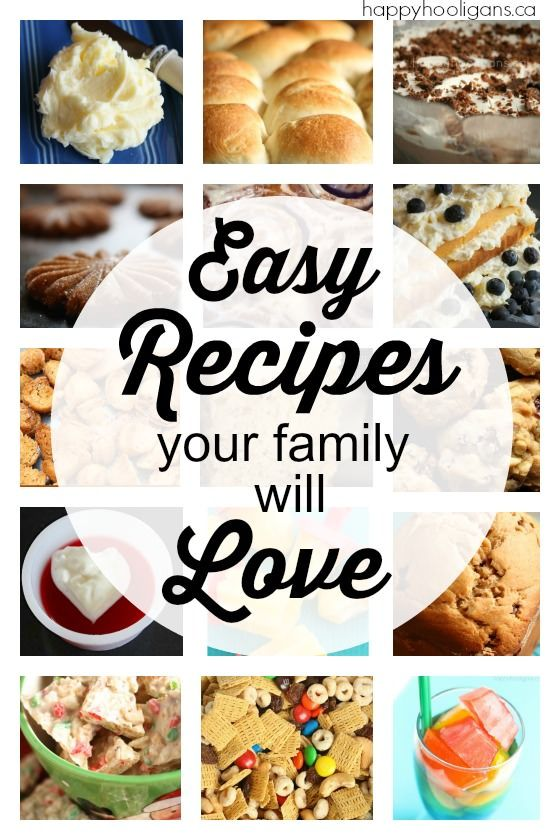 Easy family recipes that everyone will love happy hooligans bread food forumfinder Images