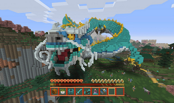 Minecraft Chinese Mythology MashUp Pack And Free Content Update - Minecraft videospiele