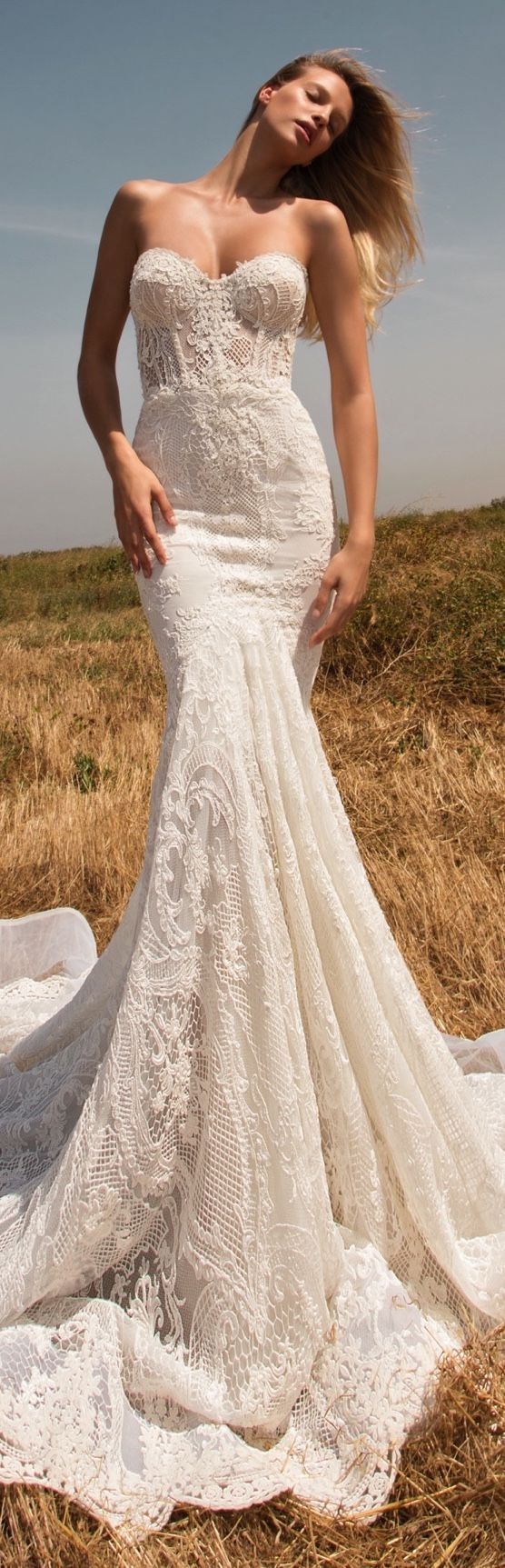 Gala 704 sheer corset and tight skirt in a vintage mermaid for Wedding dresses tight fitting