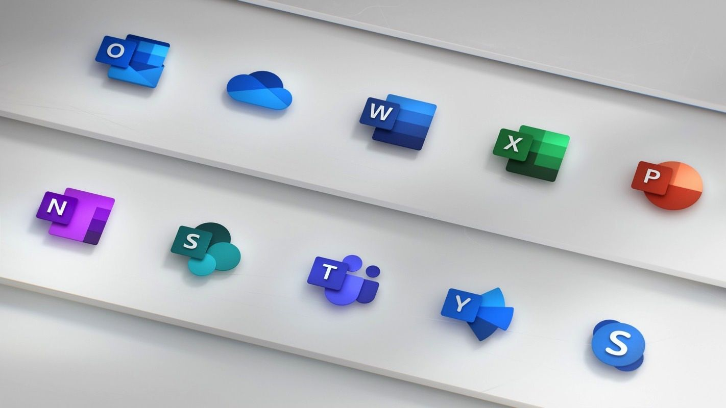 Today's tech news Microsoft Unveils new icons for Office