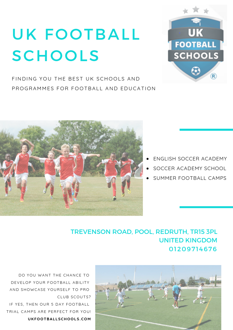 UK Football Schools is a new initiative from the team behind UK