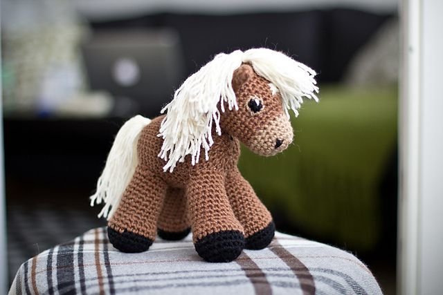 Sally The Amigurumi Pony Pattern By Linnea Ornstein With Images