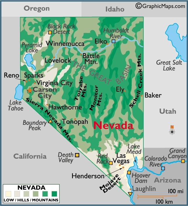 Nevada City On The Humboldt River