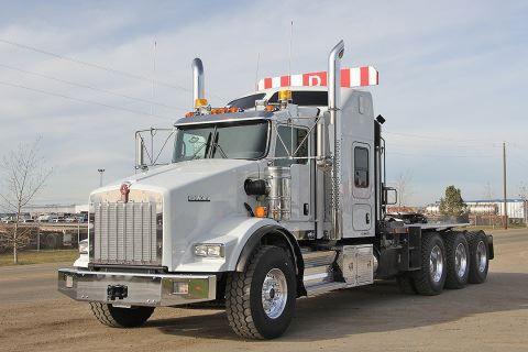 2015 Kenworth T800 Tri Drive Winch Tractor With Images
