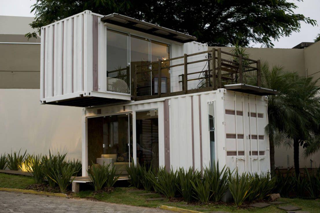 Container de r ve pour tous salons contemporains for Minimaliste mini maison