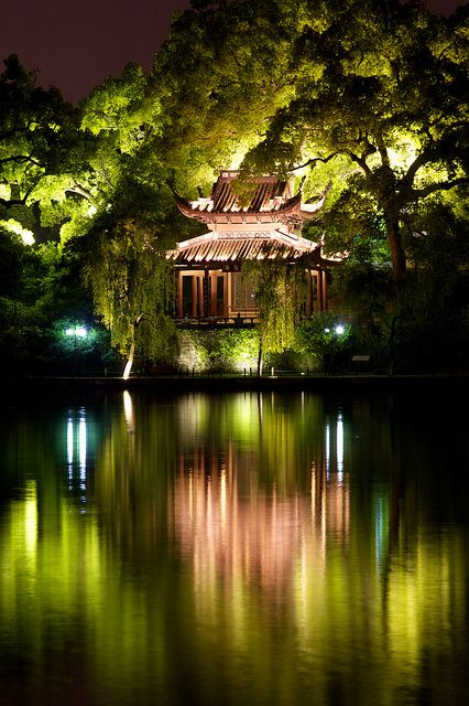 One of the most beautiful spots on earth. West Lake, en Hangzhou, China