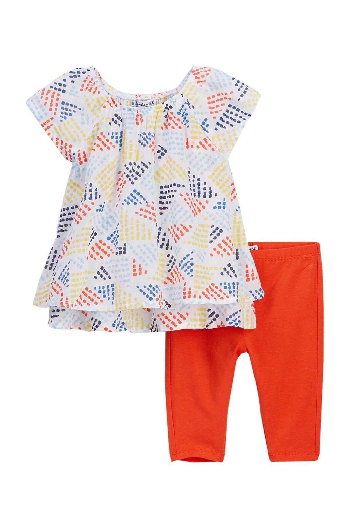 f839cf98a613 Allover Print Top & Leggings Set (Baby Girls) by Splendid on @nordstrom_rack