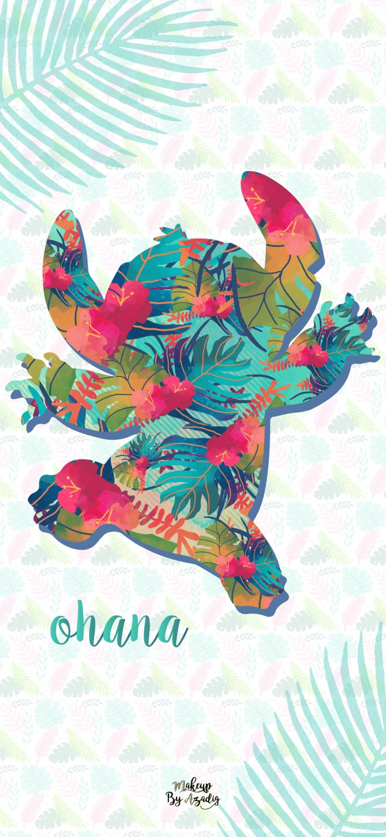 Fond Decran Wallpaper Stitch Hawai Disney Iphone X Makeupbyazadig Tendance Fond Ecran Disney Fond D Ecran De Telephone Disney Stitch Disney