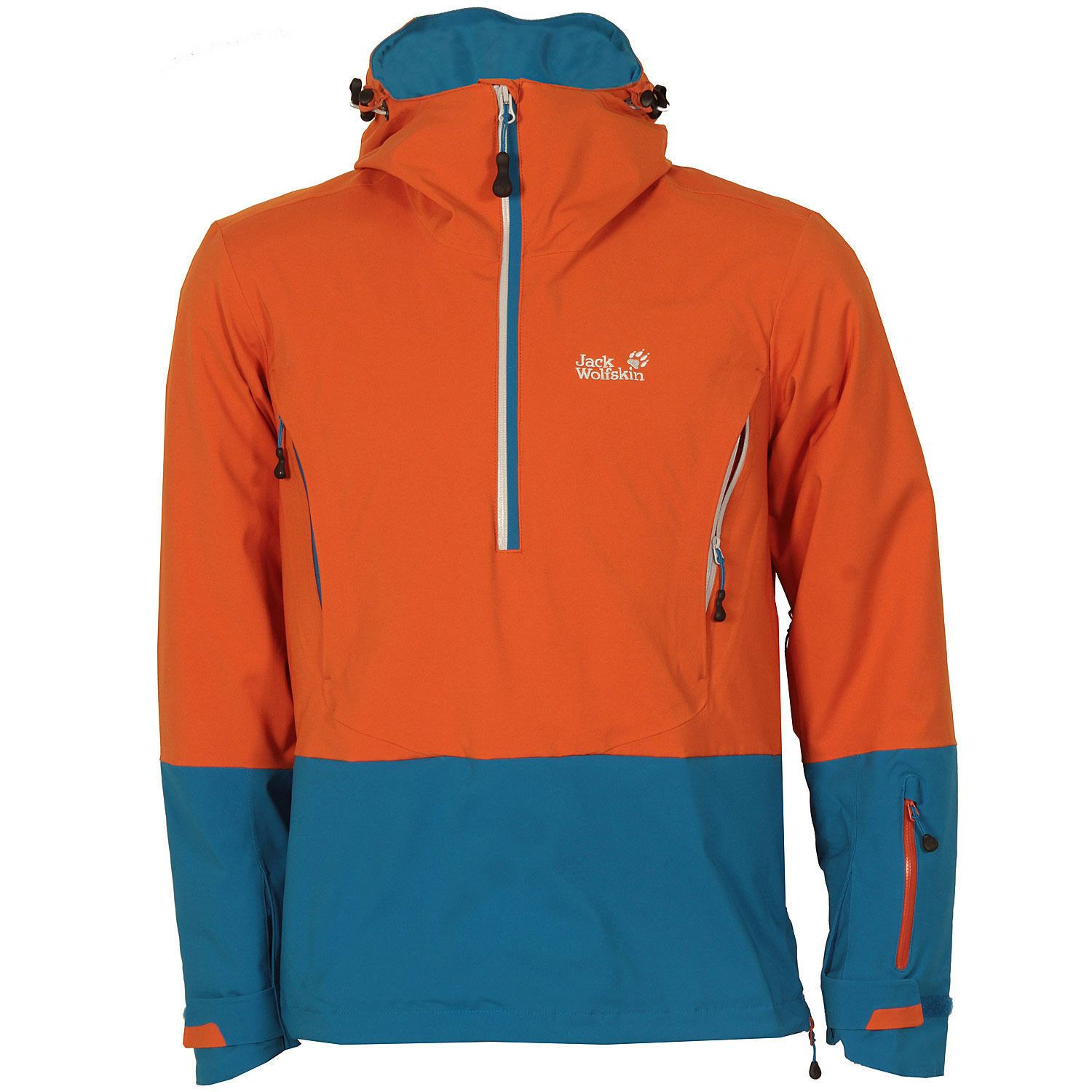 adb4f8cef0 Mens Jack Wolfskin Lone Mountain Jacket In Orange From Get The Label in  Clothes, Shoes & Accessories,Men's Clothing,Coats & Jackets   eBay