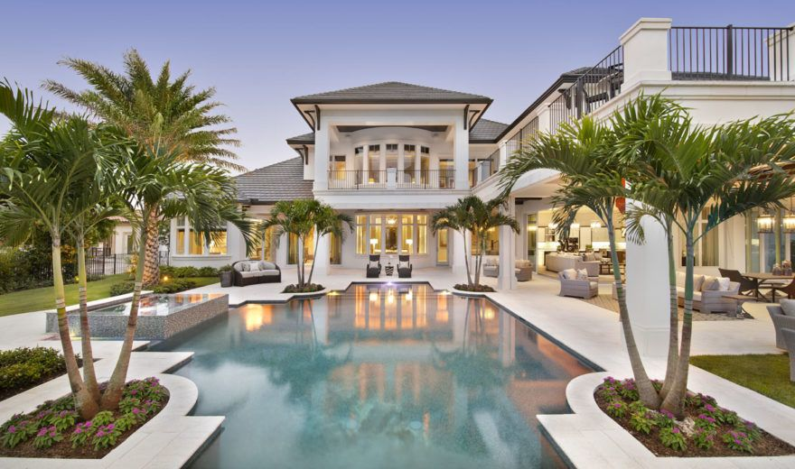 Beach House Plan Caribbean Style Golf Course Home Floor Plan Luxury Homes Dream Houses Mansions Pool Houses