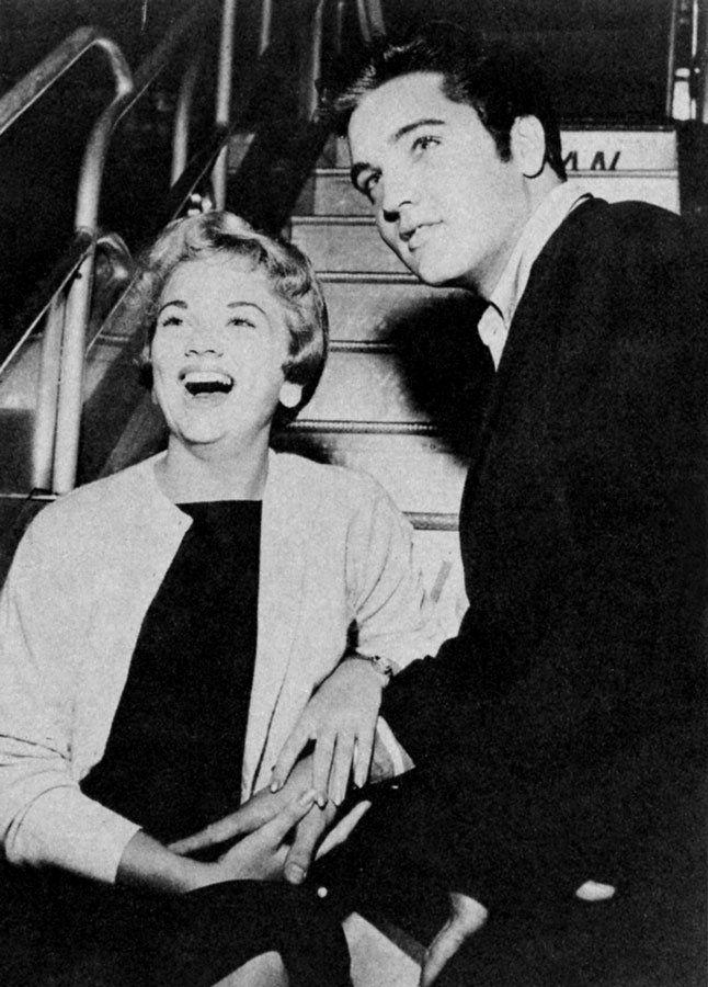 Elvis and Anita Wood in Memphis in september 13 1957