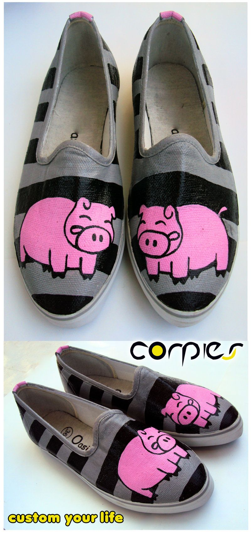 Pink Pig Shoes Who Wouldnt Want Them Pigs Pinterest Pet Lobor Lb A1312 Dial Swarovski Stainless