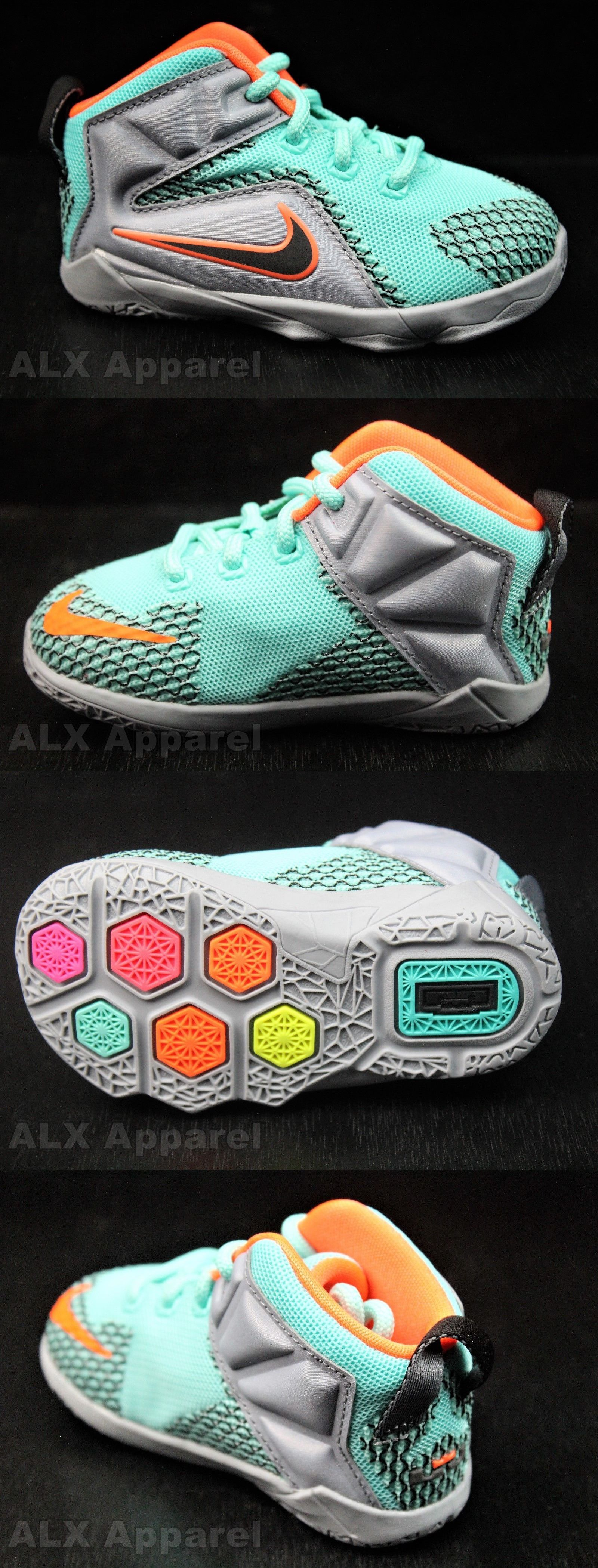 Baby Shoes Nike Lebron Xii 12 Baby Boy Shoes 302 Blue