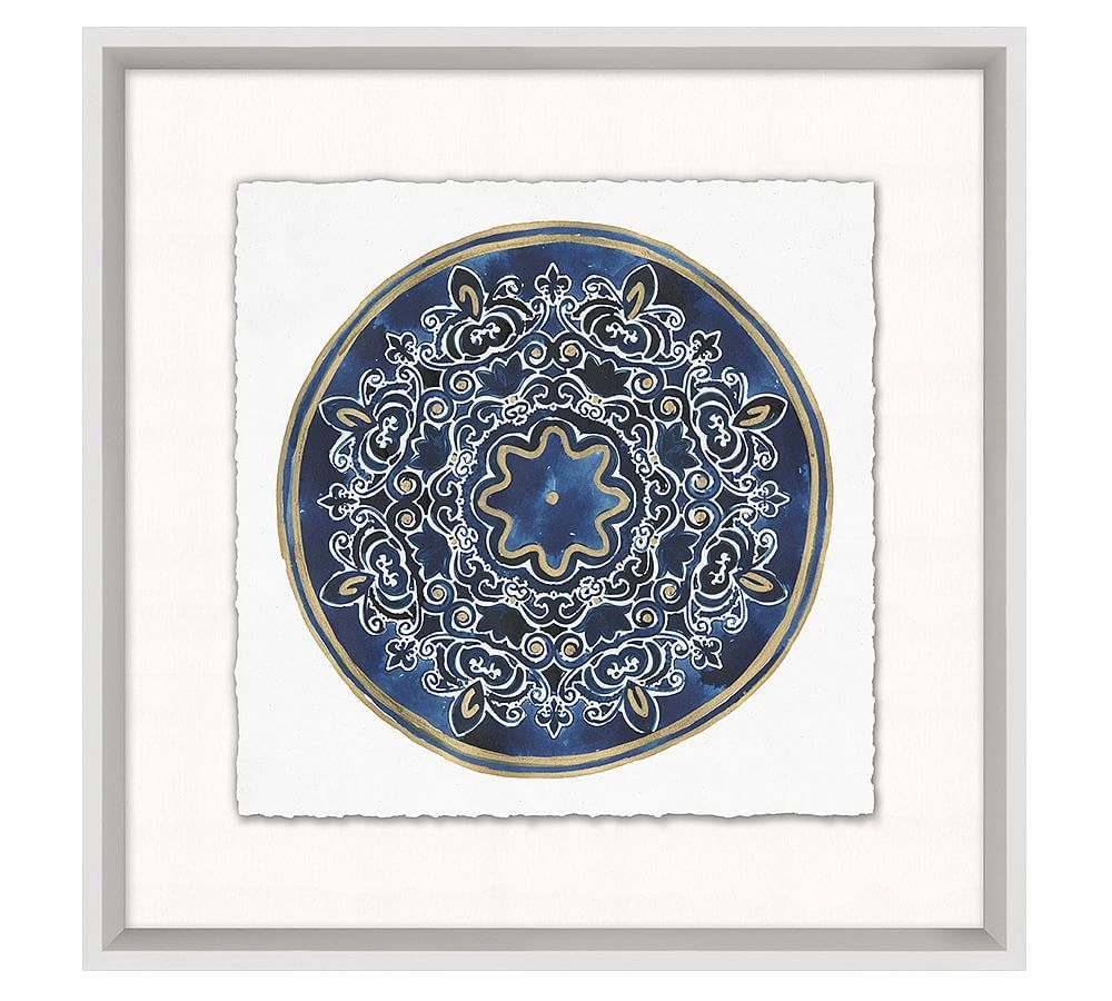 china pattern framed print 21 x 21 at pottery barn in 2018
