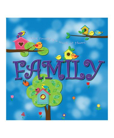 'Family' Canvas Art by Laila's on #zulily today!