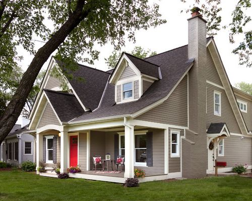 Hardie Plank Monterey Taupe Home Design Ideas Pictures Remodel House Exterior Color Schemes Exterior House Renovation Exterior House Paint Color Combinations