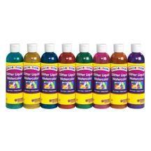Colorations Classic Colors Liquid Watercolor Paints 8 Oz Set
