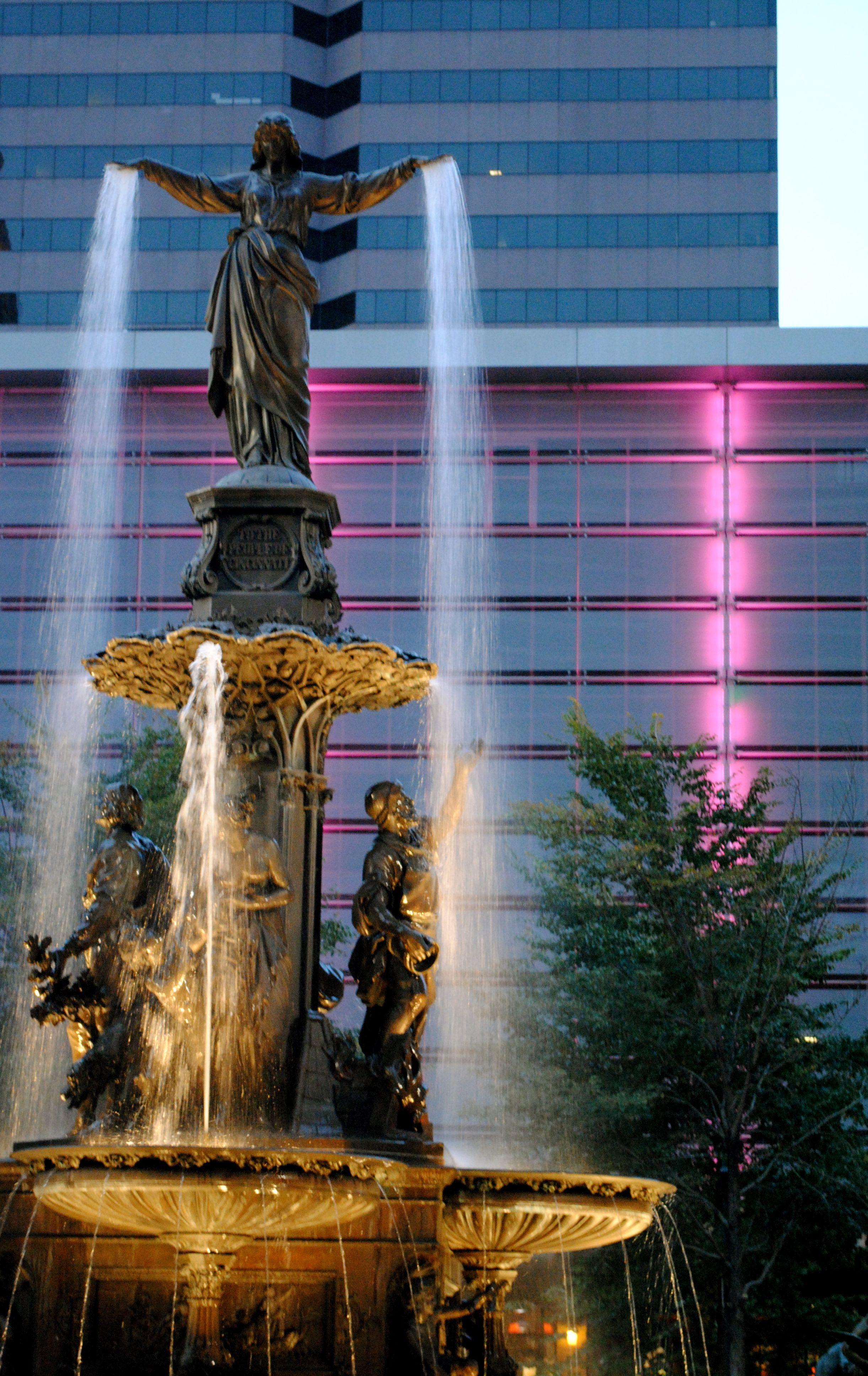 Fountain Square Cincinnati Ohio