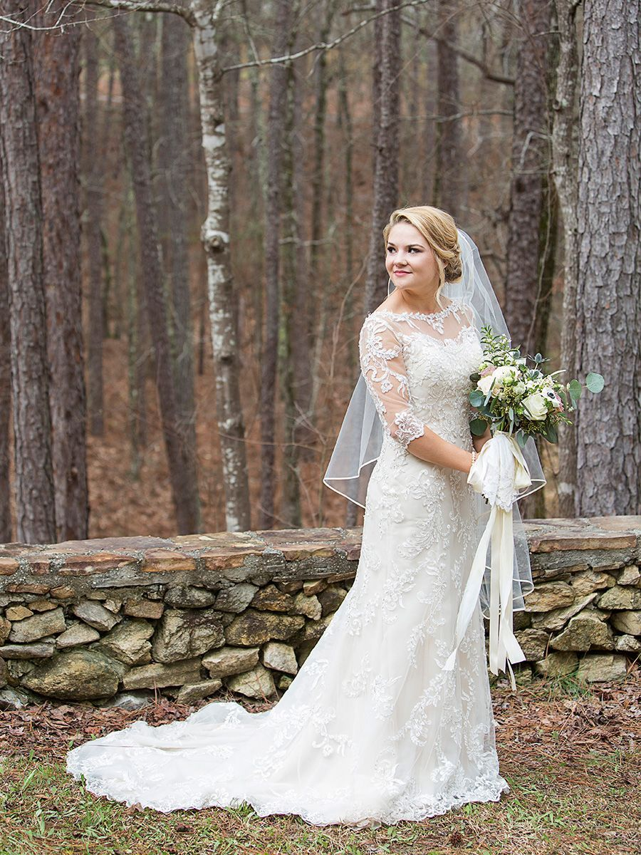 28 Winter Wedding Dresses to Help You Brave the Chilly