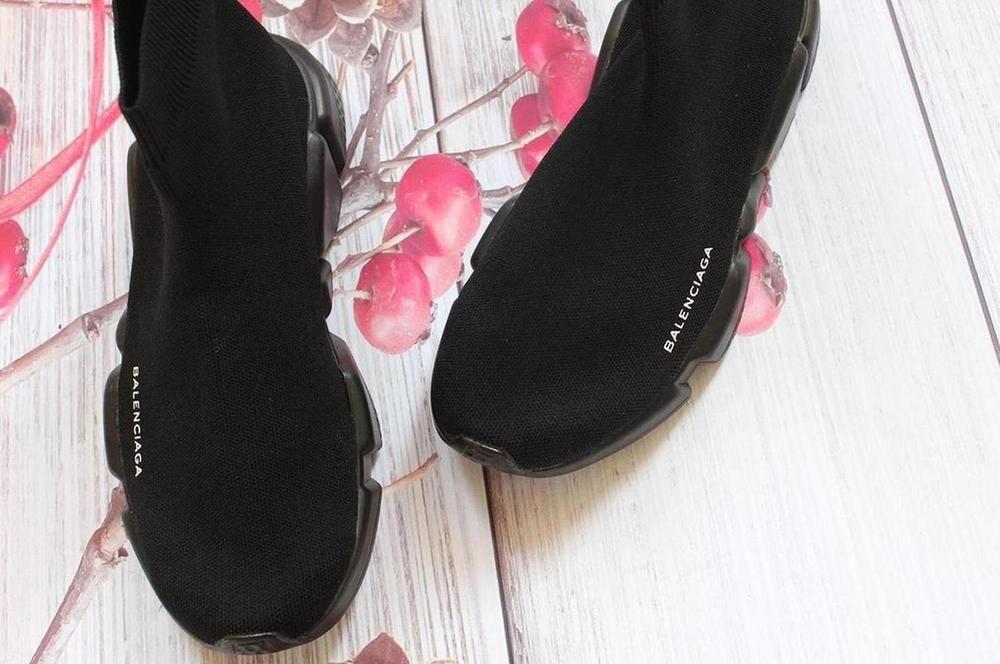 927633ffd8bd7 HOT sale balenciaga Free Shipping women s size 8 color black textured sole   fashion  clothing