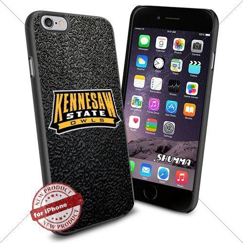 """NCAA-Kennesaw State Owls,iPhone 6 4.7"""" Case Cover Protector for iPhone 6 TPU Rubber Case Black SHUMMA http://www.amazon.com/dp/B012JYQZIU/ref=cm_sw_r_pi_dp_C5LRwb04GF0AA"""