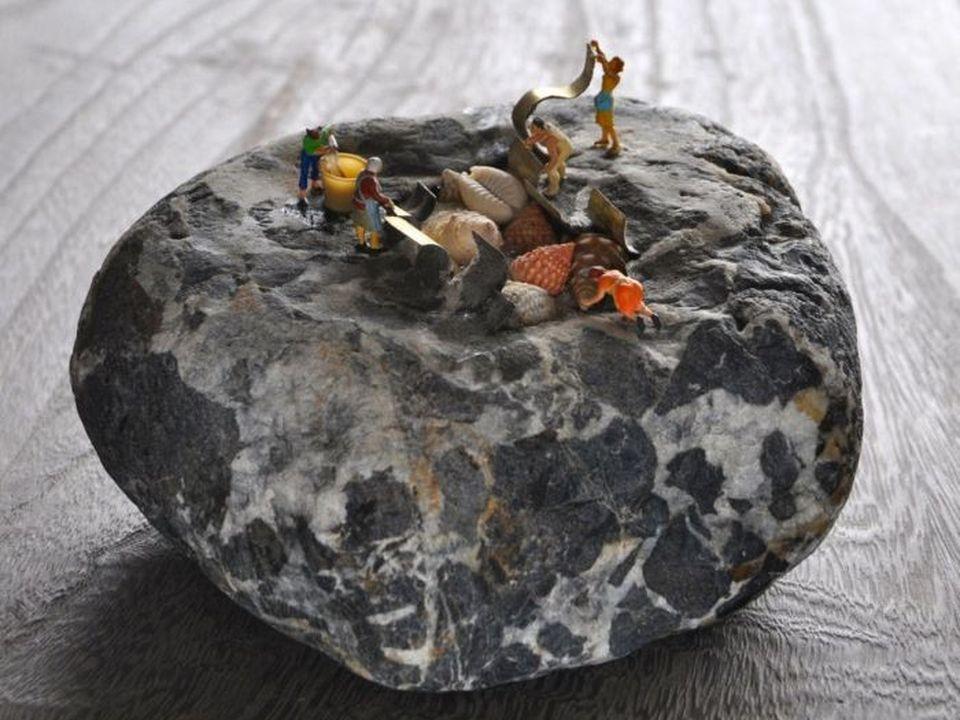 Arte con piedras - Taringa!