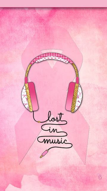 October Is Pink Ibabygirl Pink Music Wallpaper Pink Music Pink Wallpaper