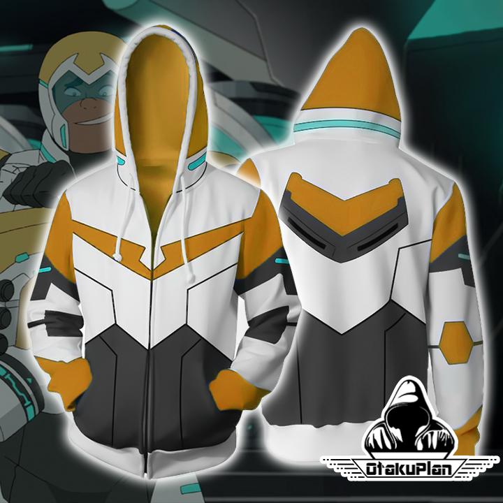 Hunk Voltron Legendary Defender Paladin Hoodie Jacket