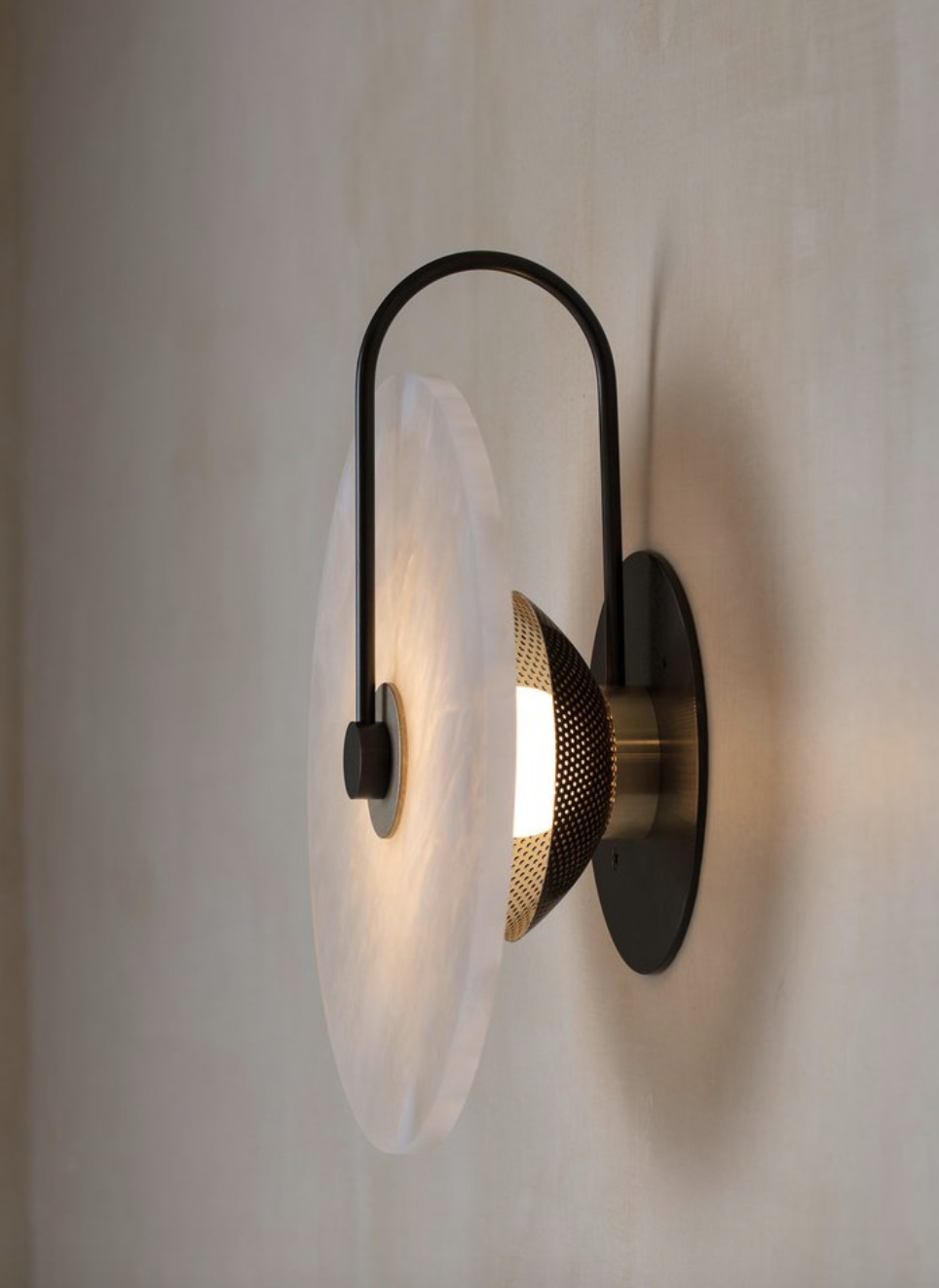 Ada Alabaster Sconce 10 In 2020 Wall Lights Indoor Wall Sconces Sconces