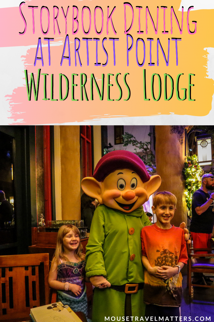 Storybook Dining Review at Artist Point with Snow White at
