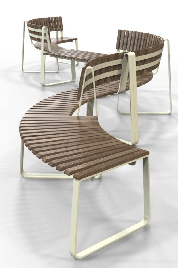 New Super Sustainable Seating for Public Interiors IOU [I owe you ...