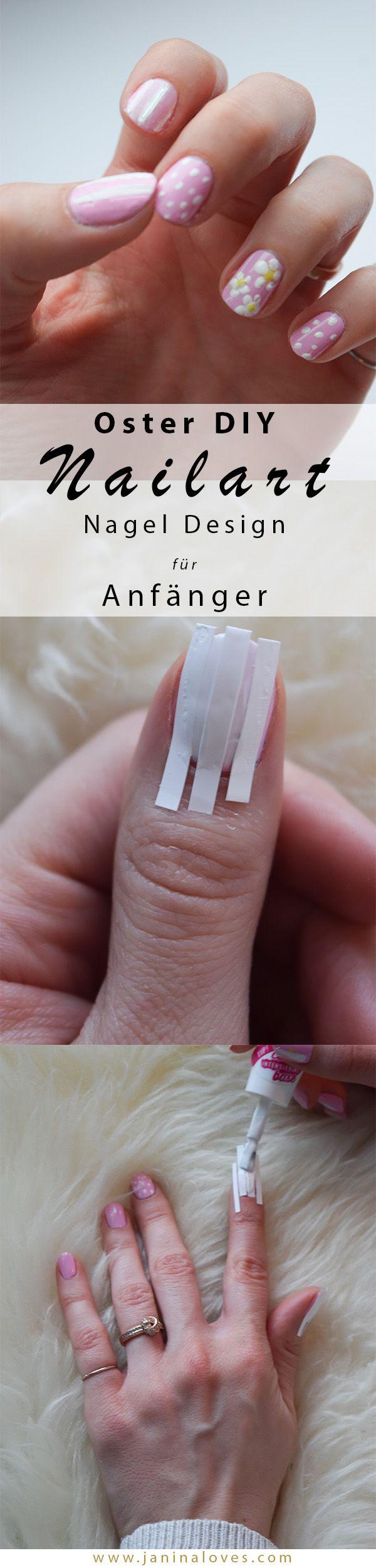 DIY Nailart: einfaches Nagel Design zu Ostern
