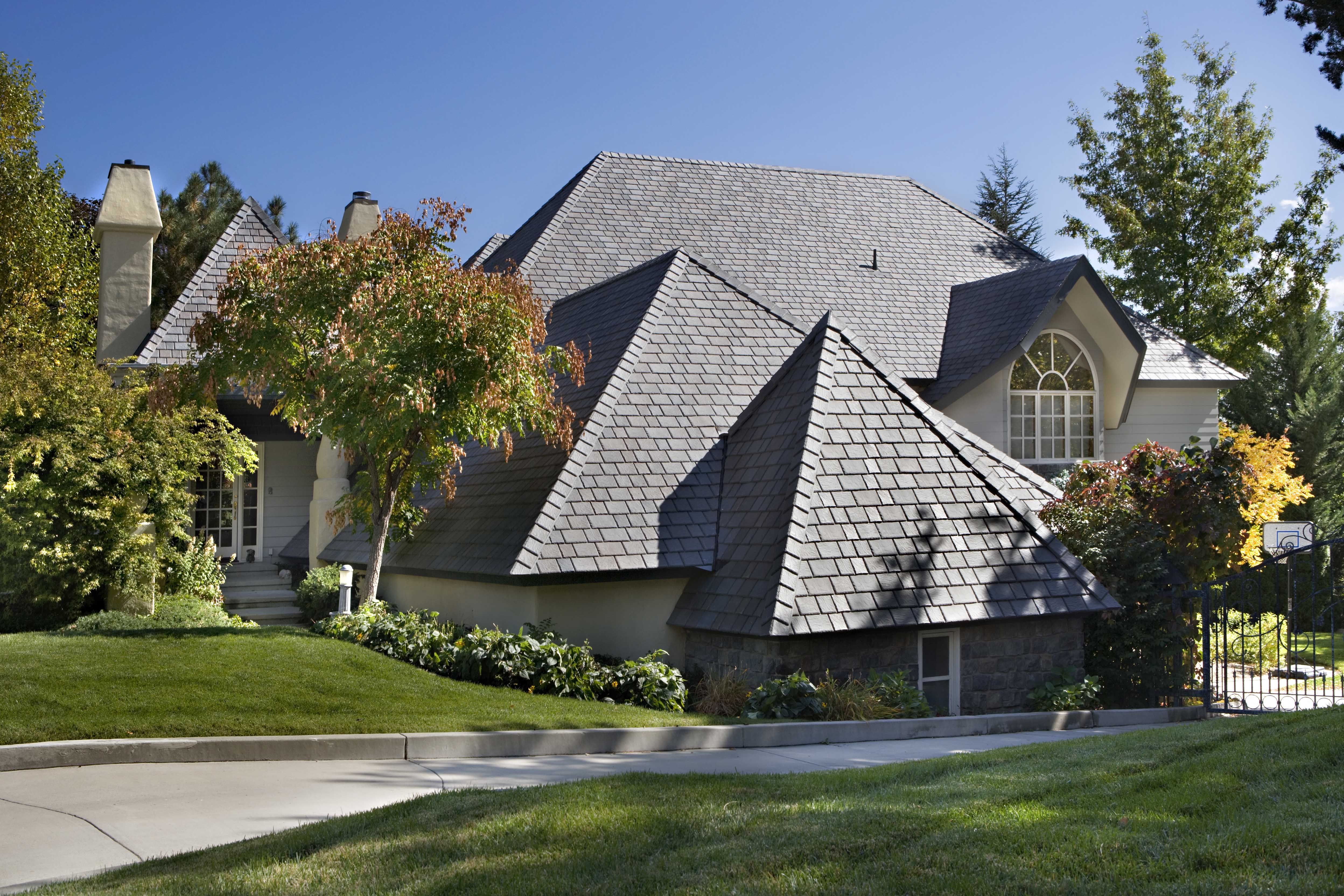 Brownstone Blend Shake Roof Roof Galvanized Roofing
