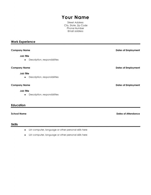 resume template high school graduate sles of resumes News to Go 2