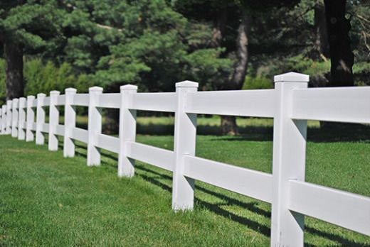 Vinyl Two Rail Fence Rail Fence White Vinyl Fence Split Rail Fence