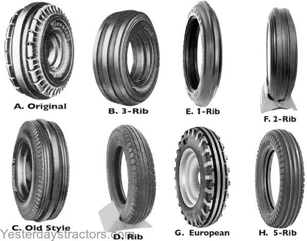 Part Number Front Tires Enlarged View Yesterday S Tractor Co Tractors Enlarged Vehicle Logos