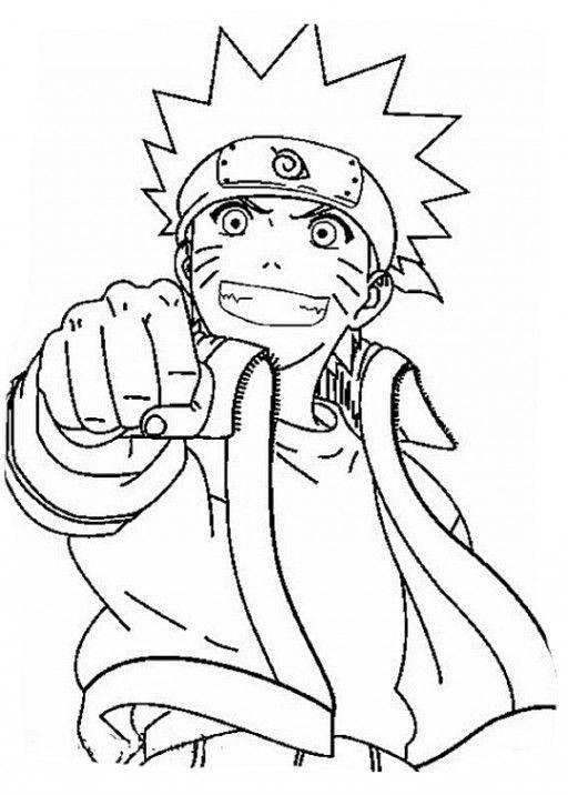 11 Beste Ausmalbilder Naruto Kostenlos   1Ausmalbilder.com ...