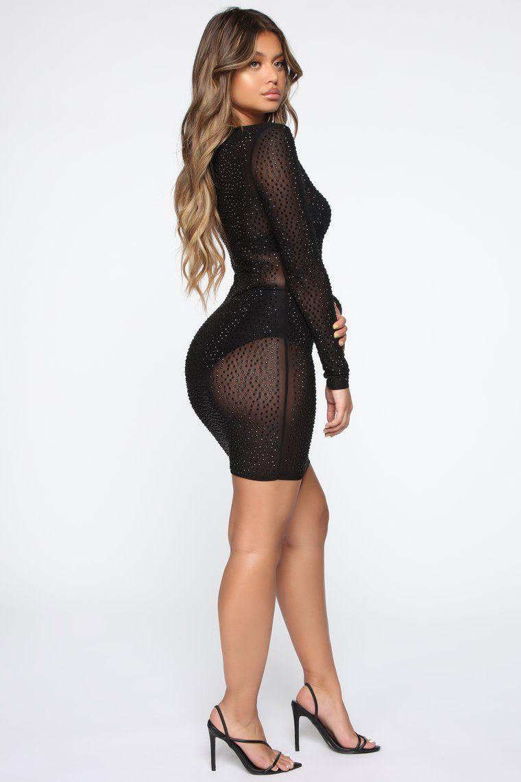 Isabela Rhinestone Dress Black Black Rhinestone Dress Dresses Mini Black Dress [ 1140 x 760 Pixel ]